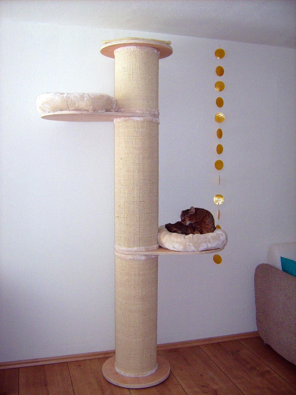 Kratzbaum Paradise Test von Zooplus getestet von Katzenfreundin
